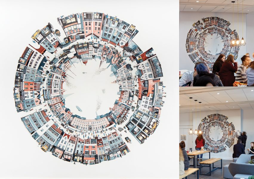 Goldsmiths Mural Composite