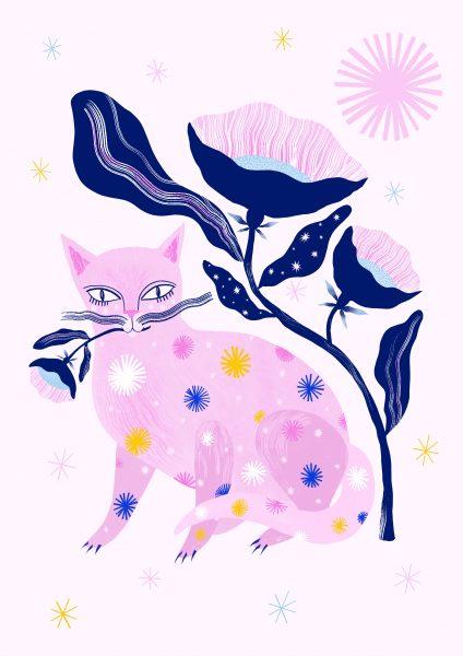 Floral Feline