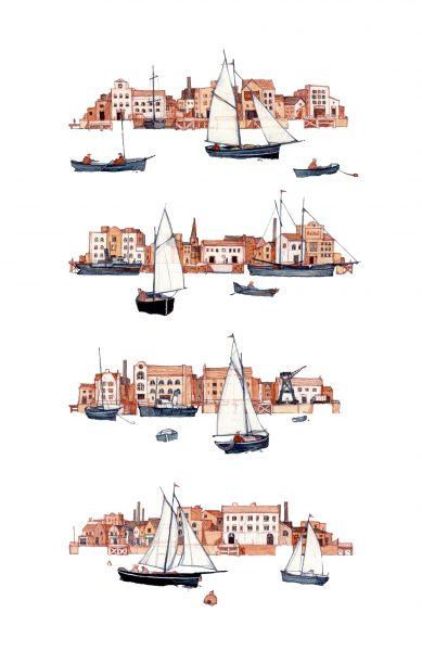 Stacked Docks