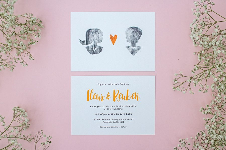 Wedding stationery: Sweethearts