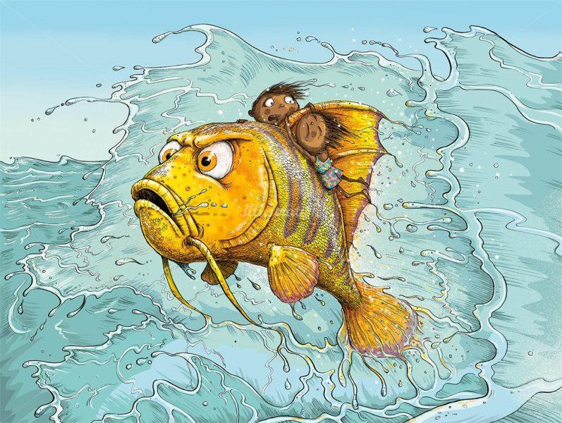 fish-children-illustration