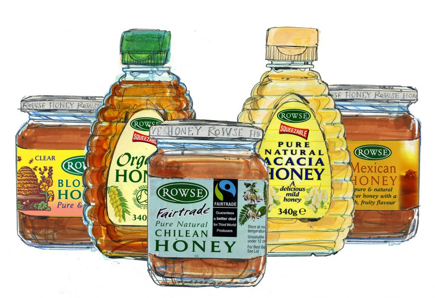 Rowse Honey / The Branding Company