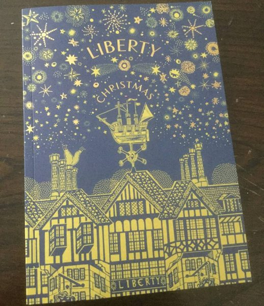 Liberty Christmas Catalogue
