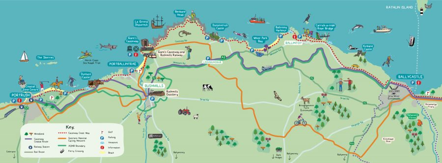 Causeway Coast Guide Map / Causeway Heritage Trust