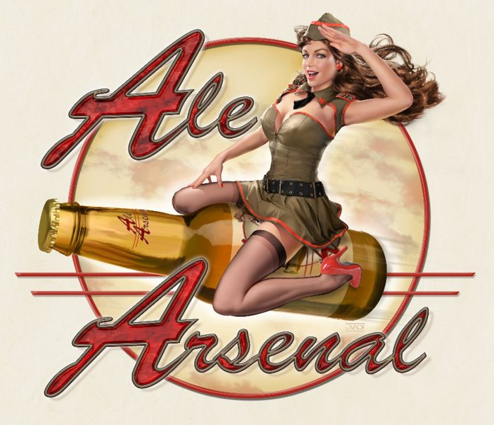 Ale Arsenal Pin Up