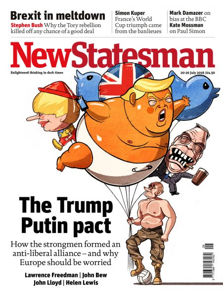 Cover 20th - 26th July / New Statesman