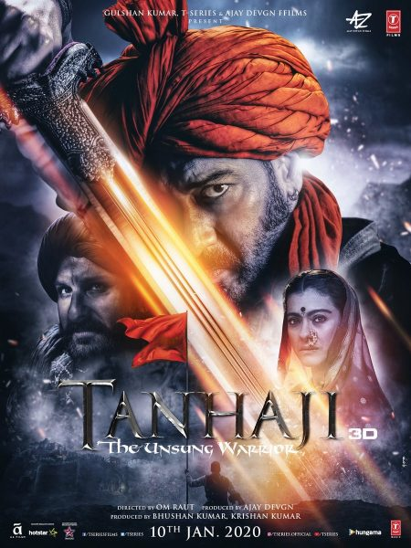 Tanhaji - Unsung Warrior Movie poster H-One