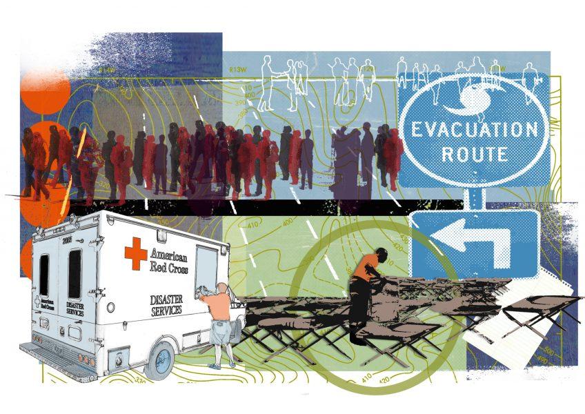 Mass evacuation USA