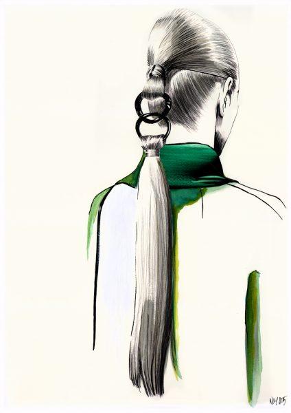 Dior Haute Couture Hair