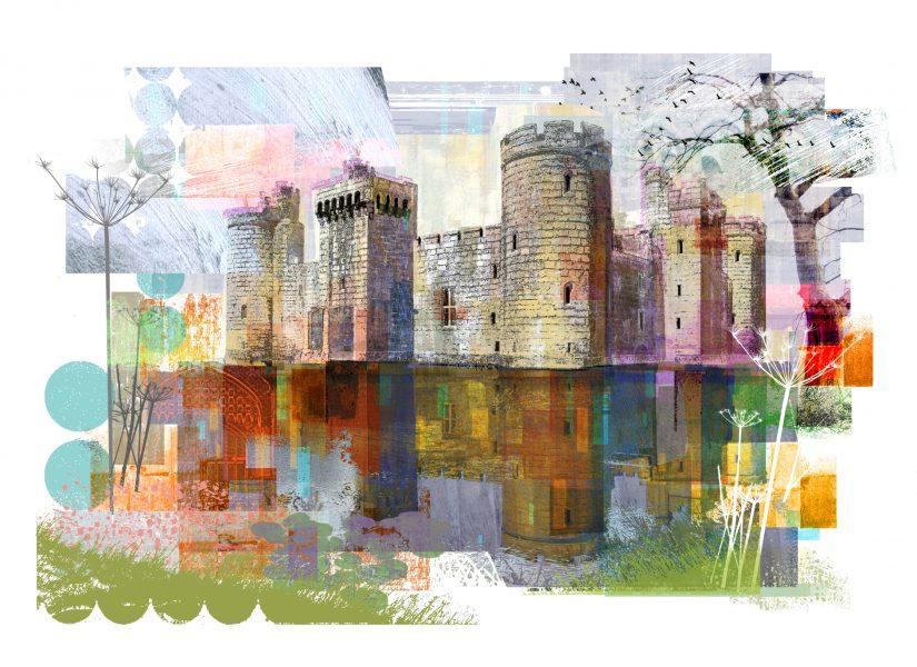 Bodiam Castle / The National Trust