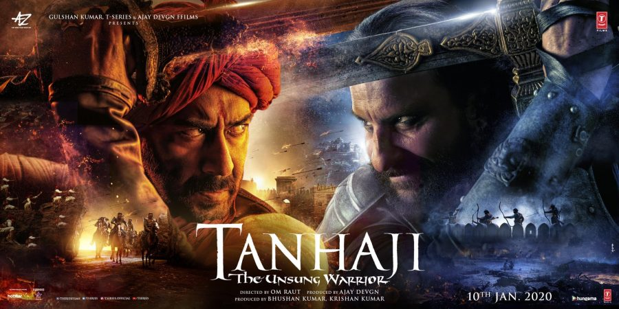 Tanhaji - Unsung Warrior movie poster H-One (India)