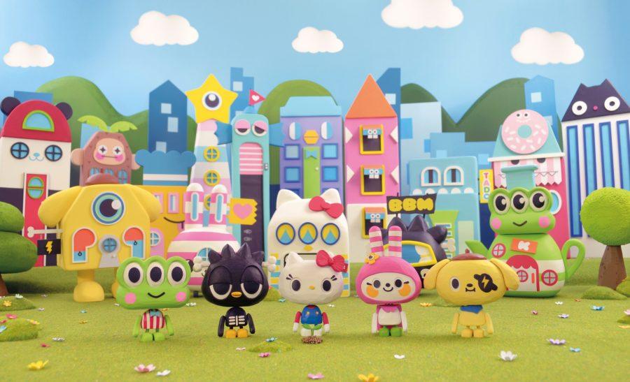 Hello Kitty 'Pomme Party'