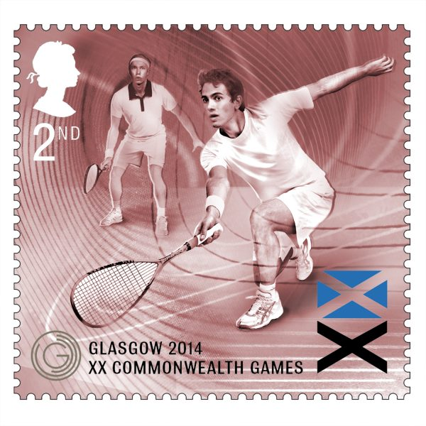Squash Royal Mail Stamps