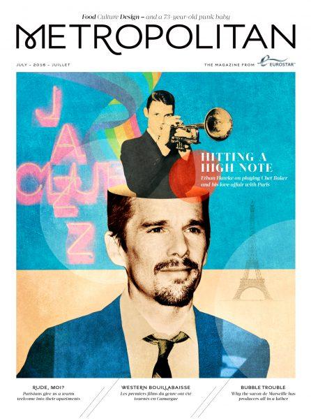 Chet Baker / Ethan Hawke / Metropolitan magazine