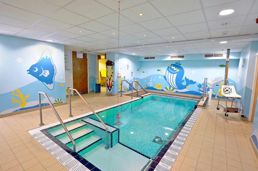 Sheffield Children's Hospital Ryegate Centre Hydrotherapy Pool