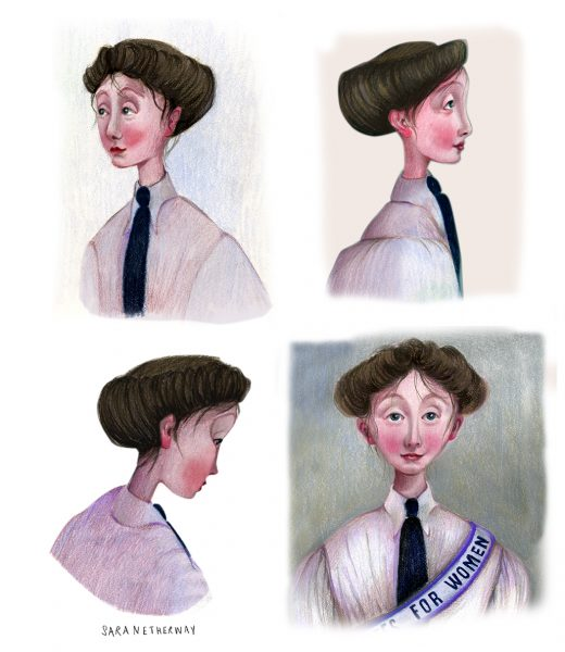 Suffragette character