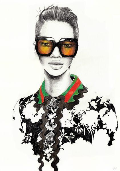 Glasses / Gucci SS16