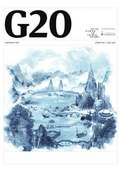 G20 Summit Brochure Cover