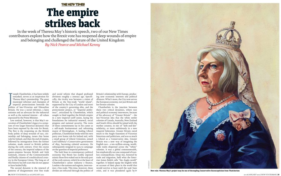 The Empire Strikes Back / The New Statesman