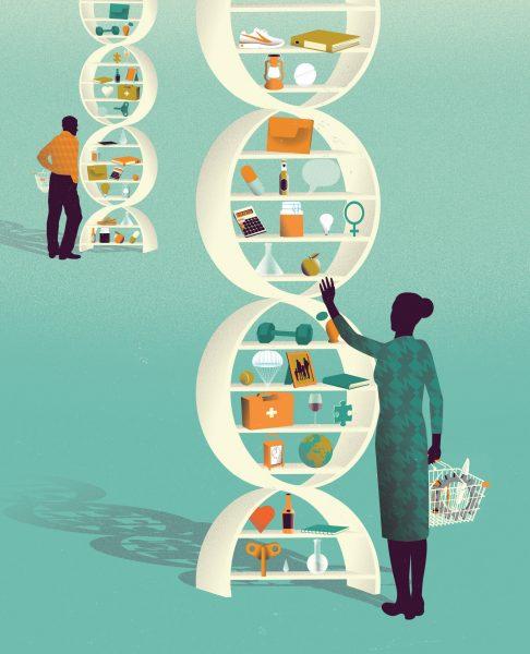 Fast Company Magazine / Custom DNA