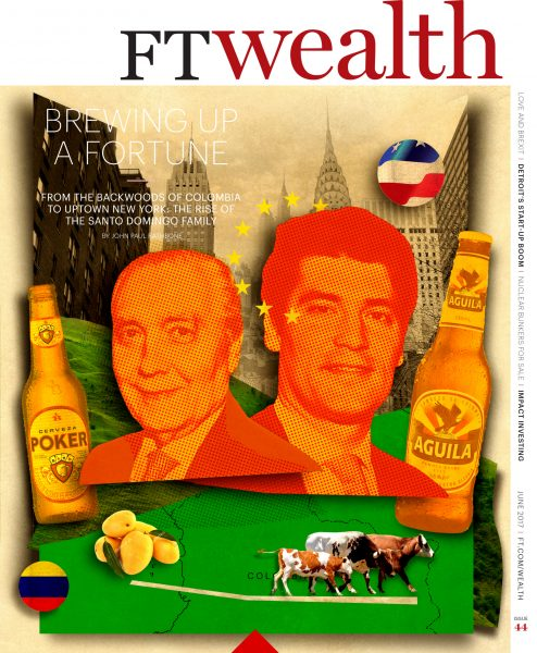 Financial Times / Wealth Cover