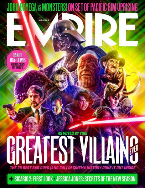 The Greatest Villains Ever / Empire Magazine