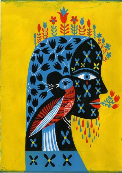 Women With Bird