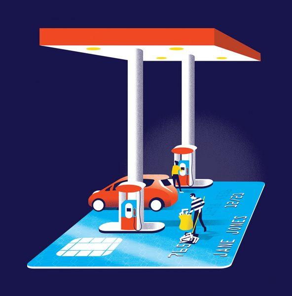 Credit Card Skimmer / Houstonia
