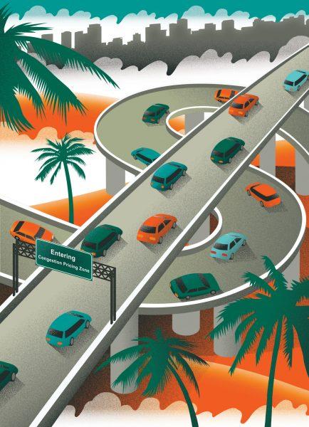 Congestion Charge LA / PM Network