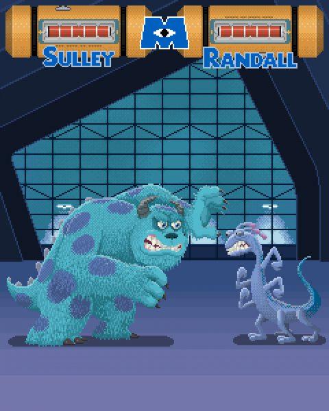 Monsters Inc / Pixar