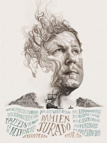 Damien Jurado Tour Poster