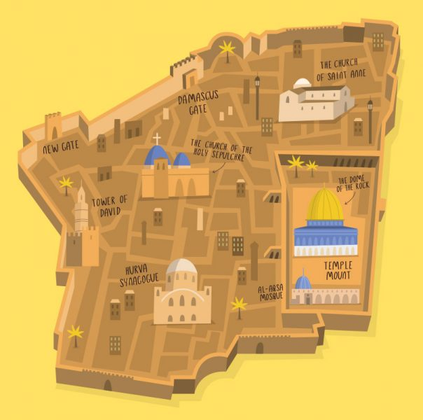 3D Map of Jerusalem