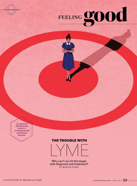 O, The Oprah Magazine - The Trouble with Lyme
