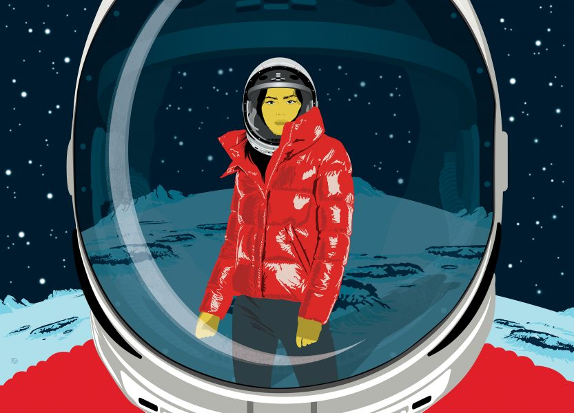 Outerwear Meets Outer Space
