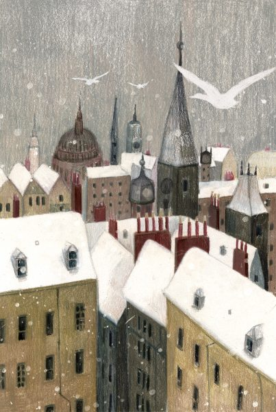 Snowy Rooftops
