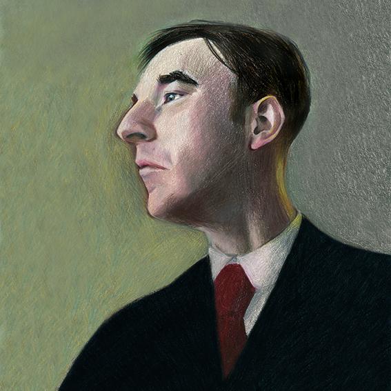 Sherlock Holmes Portrait Character
