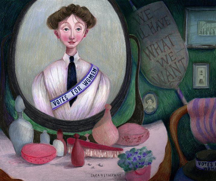 Suffragettes Sara Netherway