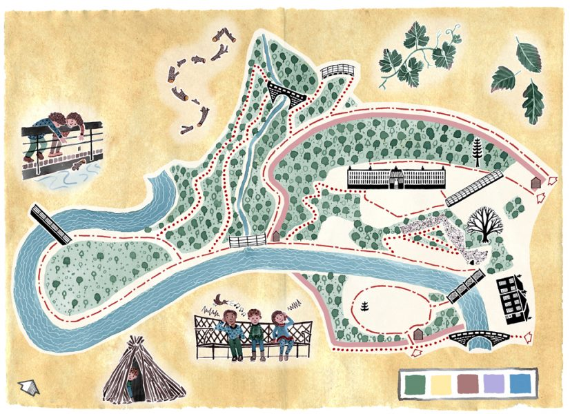 Explorer Map, Quarry Bank Mill (National Trust)