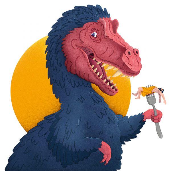 Dinosaur meals