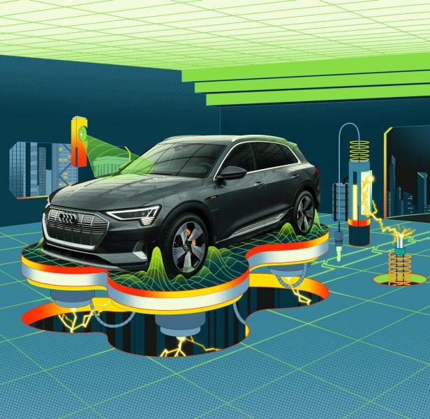 Superhero Lair 1 / Audi E-Tron