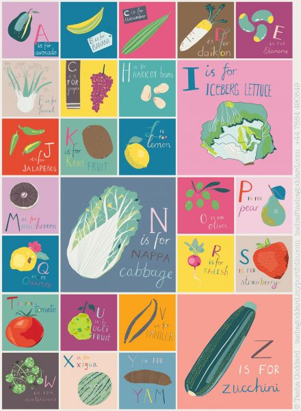 A to Z of Fruit and Veg