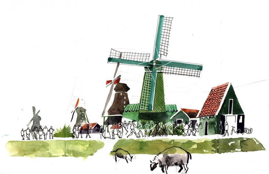 Zaansee Schans, The Netherlands