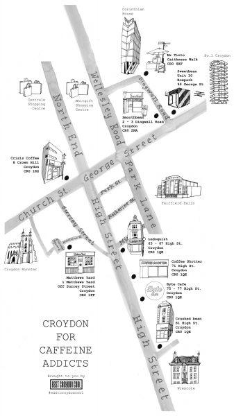 Croydon for Caffeine Addicts