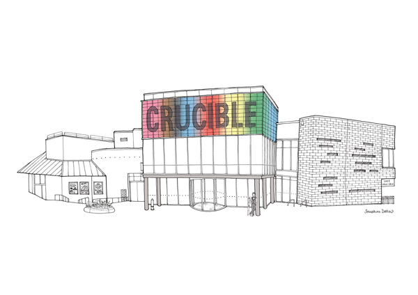 Sheffield Crucible, private commission