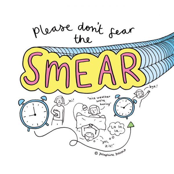 Social media piece for Cervical Cancer Prevention Week