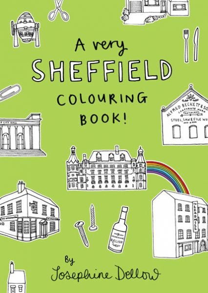 A Very Sheffield Colouring Book