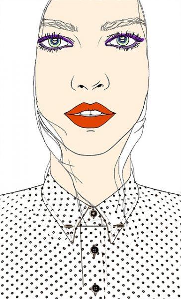 polka-dot-shirt