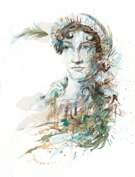 Jane Austen Portrait / English Heritage Magazine