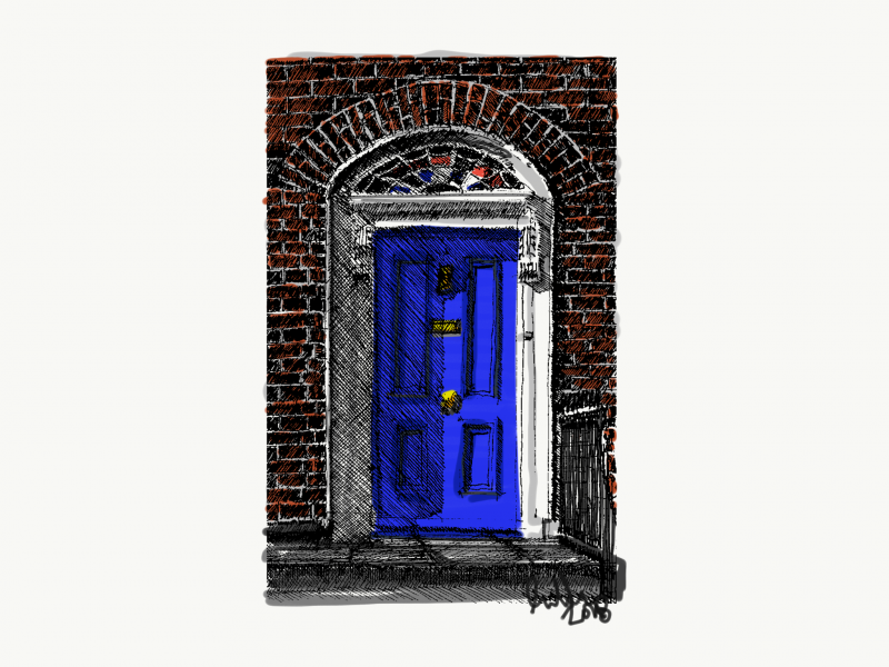 Dublin Doorway Colour 2018