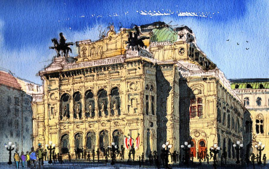 Vienna Opera House 1500 pixels